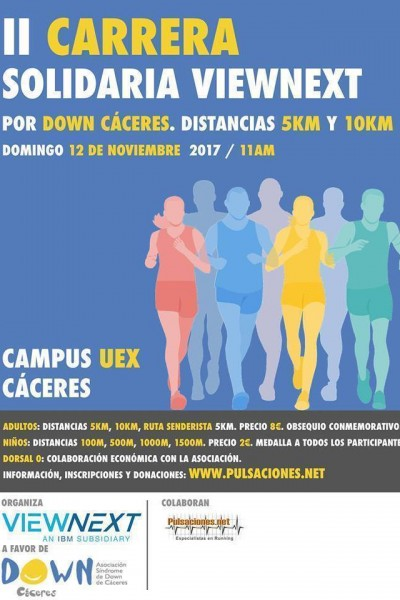 II Carrera Solidaria ViewNext.-