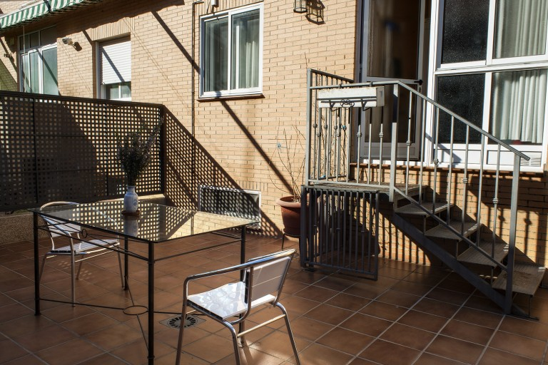 Accommodation in Caceres with private courtyard